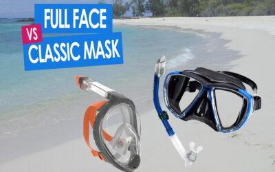 Snorkeling Equipment: Traditional Snorkeling Mask vs Full Face Mask